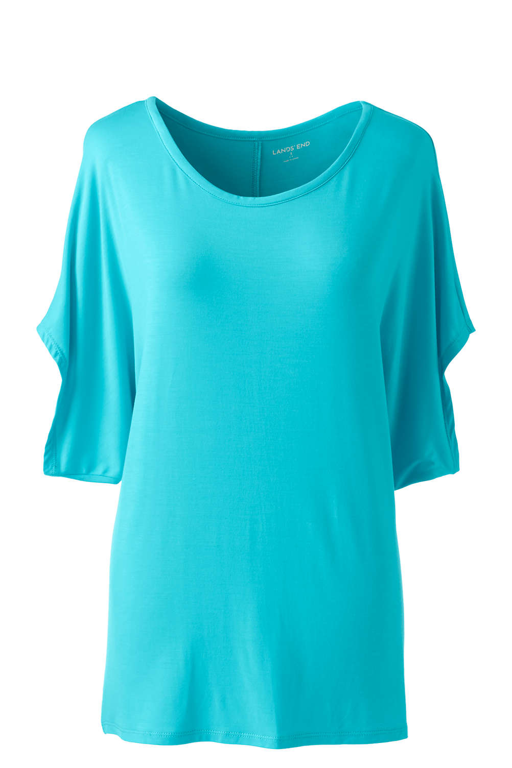 95ae223df1053f Women's Jersey Dolman Sleeve T-Shirt from Lands' End