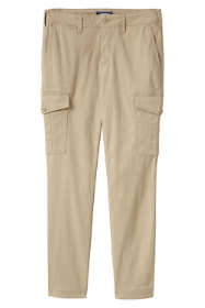 Women's Plus Size Mid Rise Cargo Chino Pants