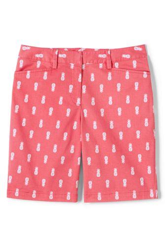 Women's 10″ Bermuda Chino Shorts - Patterned