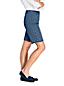Bermuda Chino Stretch Imprimé, Femme Stature Standard
