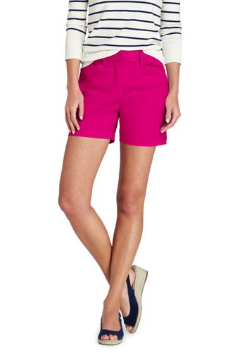 Women's Mid Rise 5″ Chino Shorts