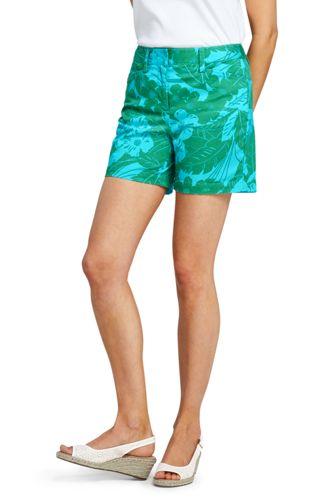 Le Short Chino Stretch Imprimé, Femme Stature Standard