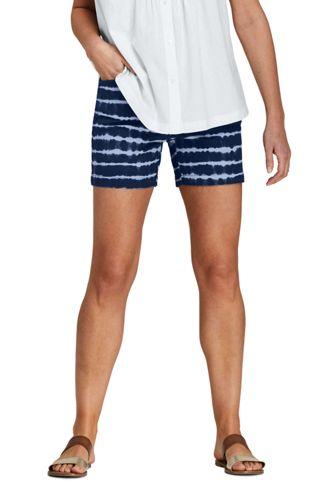 Women's 5″ Patterned Chino Shorts