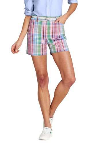 Women's Mid Rise 5″ Yarn Dyed Chino Shorts
