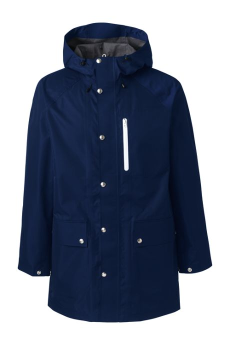 Men's Tall Waterproof Rain Slicker