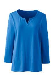 Women's 3/4 Sleeve Henley