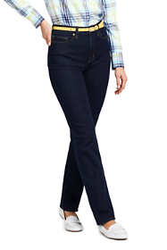 Women's Tall High Rise Straight Leg Jeans