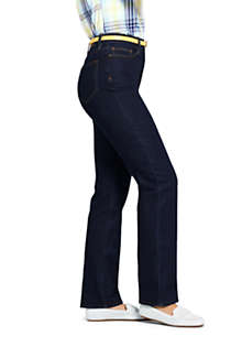 Women's High Rise Straight Leg Jeans, Unknown