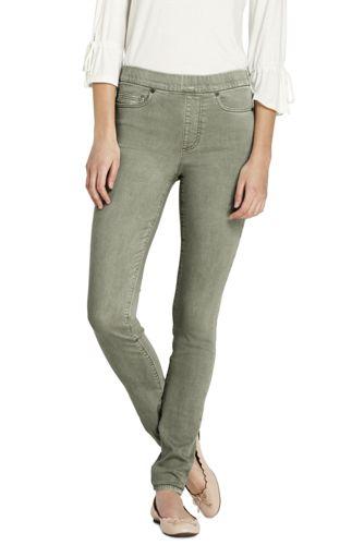 Le Jegging Coloré Taille Mi-Haute, Femme Stature Standard