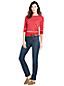 Women's Straight Leg Jeans - Mid Rise, Indigo