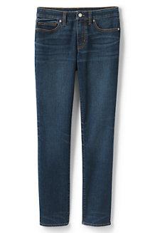 True-Straight Jeans in Indigo-Waschungen für Damen