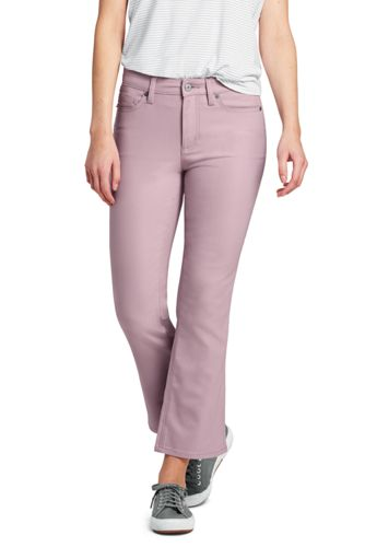 Le Pantacourt Flare Stretch Taille Mi-Haute, Femme Stature Standard