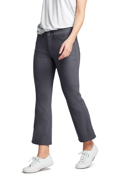 Women's Tall Mid Rise Kick Crop Pants