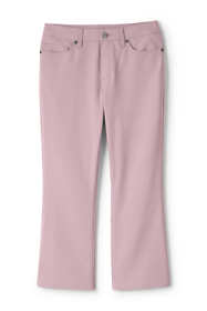Women's Plus Size Mid Rise Kick Crop Pants