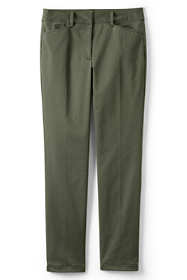 Women's Chino Mid Rise Straight Leg Pants