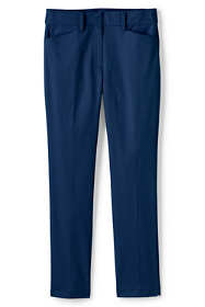 Women's Plus Size Mid Rise Chino Straight Leg Pants