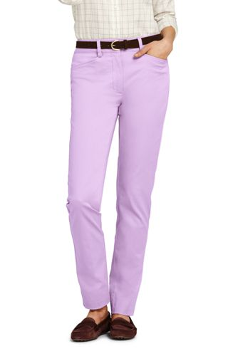 Women's Mid Rise Cargo Chino Pants