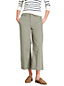 Le Chino Large Court Stretch Taille Mi-Haute, Femme Stature Standard