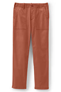 Women's Plus Size Mid Rise Field Chino Pants, Front