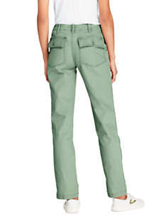 Women's Mid Rise Field Chino Pants, Back