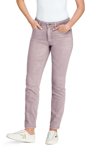 Women's Coloured Ankle Jeans