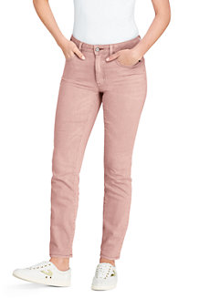 Women's Mid Rise Coloured Ankle Jeans