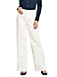 Women's Wide Leg Trousers in Twill