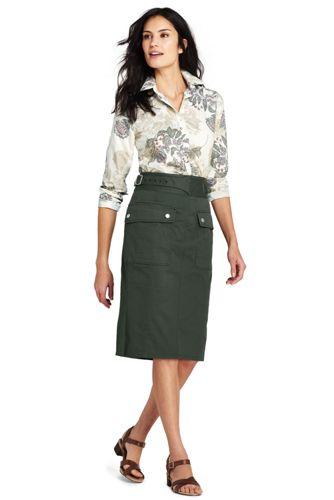 Women's Woven Utility Skirt