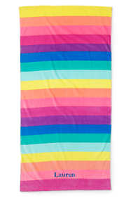 Kids Printed Velour Beach Towel