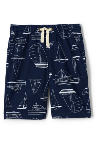 Boys' Printed Pull-on Shorts