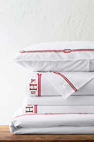 Oxford Rope Embroidered Duvet Cover