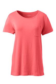 Shirt mit Spitzenrücken für Damen