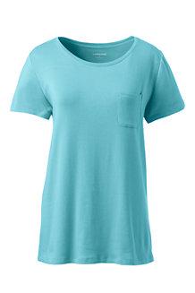 Le T-Shirt Dos Dentelle, Femme