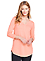 Langes Shirt mit Tunika-Ausschnitt für Damen in Plusgröße