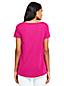 Le T-Shirt Ample en Coton Modal Stretch, Femme Stature Petite