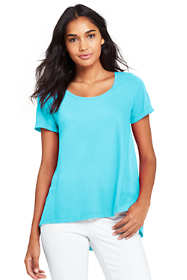 Women's Petite Scoop Neck Top