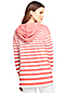 Women's Striped Ponte Jersey Hoodie