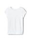 Toddler Girls' Cotton Flecked T-shirt