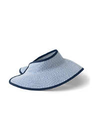 Women's Packable Straw Visor