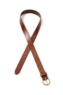 Klassischer Ledergürtel für Damen