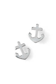 Women's Anchor Stud Earrings