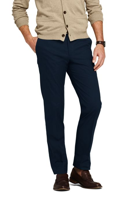 Men's Tailored Fit Stretch Chino Trousers