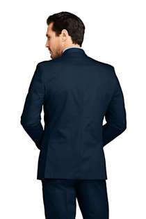 Men's Traditional Fit Stretch Chino Suit Jacket, Back