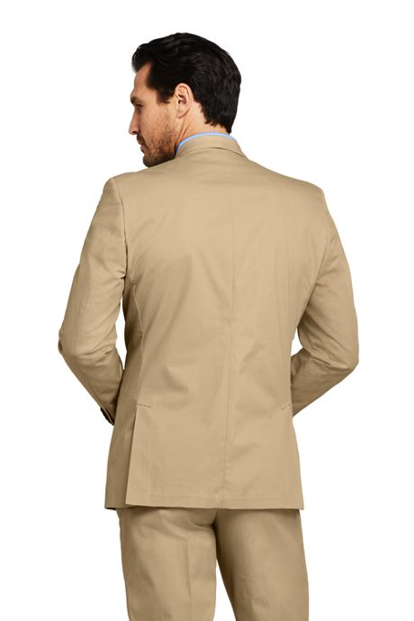 Men's Traditional Fit Stretch Chino Suit Jacket