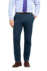 Men's Traditional Fit Stretch Chino Trousers