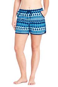 "Women's Plus Size 5"" Swim Shorts with Panty"