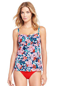 Women's D-Cup Bandeau Tankini Top