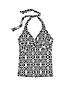 Le Tankini Décolleté Twisté Imprimé, Femme Stature Standard