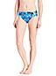 Le Bas de Bikini Imprimé Floral Taille Mi-Haute, Femme Stature Standard