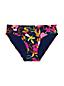 Le Bas de Bikini Imprimé Taille Mi-Haute, Femme Stature Standard